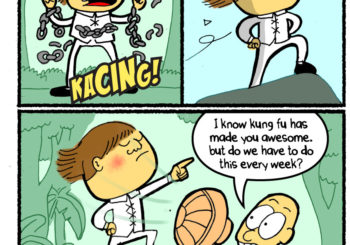 Sometimes Kung Fu Awesome Does Get Out of Hand!
