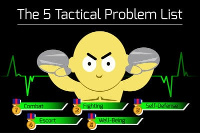 5 Tactical Problems Solved By Martial Arts